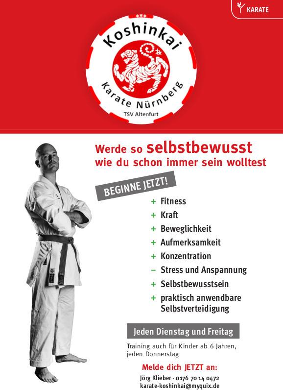 Beginne jetzt dein Karate Training