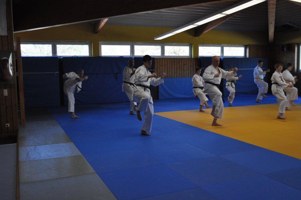 Gemeinsames Kihon Training