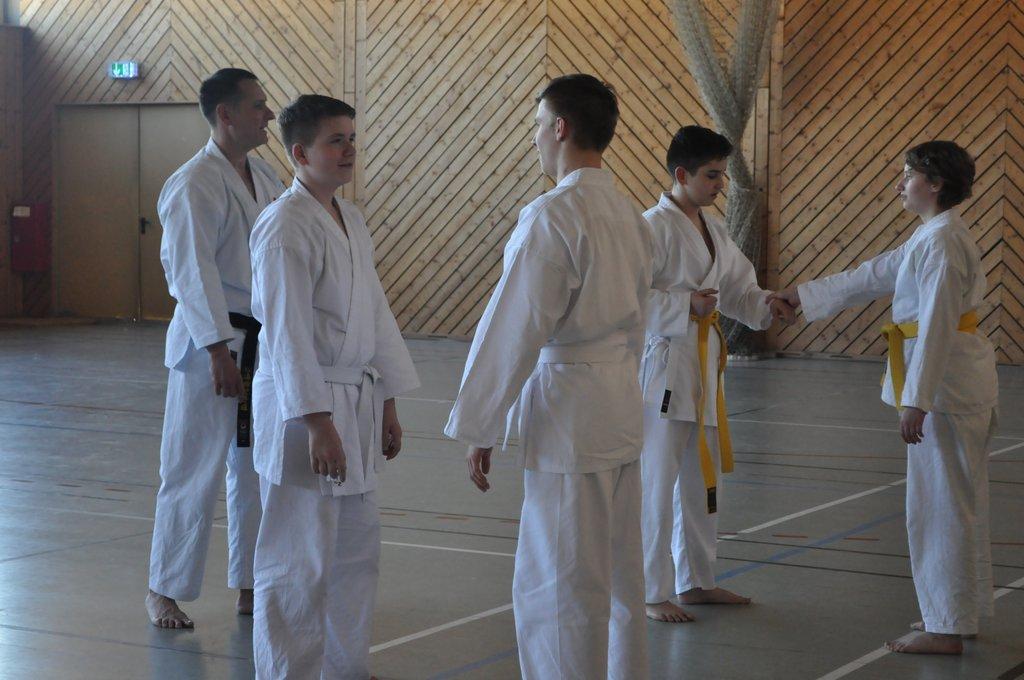 Karate Partnerübung