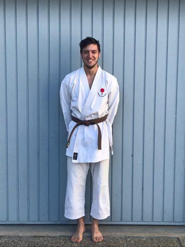 Karate Training mit Tobias Klieber